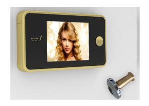 China 夜モード容易な変更電池を持つ明確なイメージのデジタル ドアの視聴者のふし穴の視聴者 on sale