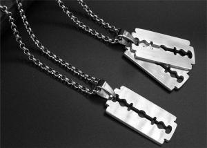 China Unique Religious Stainless Steel Chain Necklace For Men Daily Wear on sale
