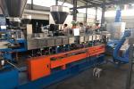 Twin Screw Pellet Making Machine , Recycle Plastic Granules Making Machine