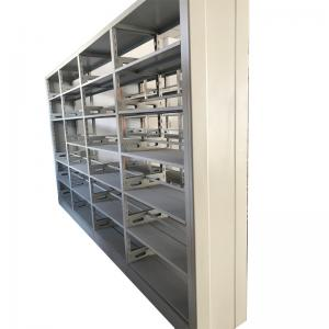 China Double Sided Thick 1.5mm Steel Office Furniture Bookshelf For Library on sale