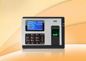 China Embedded fingerprint time attendance machine Clocking Systems with Check in / out on sale