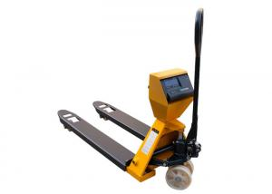 China Portable 2.5 Ton LCD Pallet Jack Scale With Printer on sale