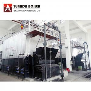 China Industrial Water Tube 10 Ton Biomass Bagasse Fired Steam Boiler For Sale on sale
