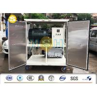 China Mobile Type Vacuum Dehydration Unit , Power Transformer Vacuum Pumping Unit on sale