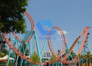 China 24 Seats Theme Park Roller Coaster Amusement Park Equipment Mini Roller Coaster Ride on sale