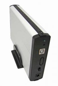 China 3.5' ' usb2.0/ e-SATA HDD enclosure on sale