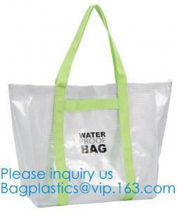 China Vinyl Women Tote Bag Travel Handbag For Beach Travel Toy Boat Hiking Shopping Fashionable Design Eco-Friendly 1000D on sale