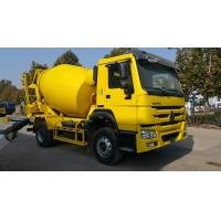 China SINOTRUK HOWO 6 Wheeler 6m3 Concrete Mixer Truck With Good Price For Sale on sale