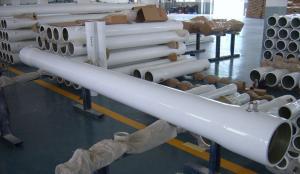 China Side Port 4040/8040 Membrane Housing , Water Filter Cartridge Housing 300PSI Pressure on sale
