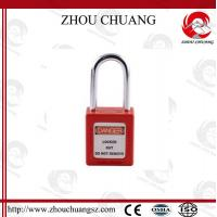 Hot sales colorful 38mm Shackle Xenoy Safety Padlock with key system Lock