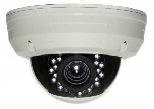 China Vandal-proof Infrared CCTV Dome Cameras 12VDC , PAL 752(H) x 582(V) NTSC 768(H) x 494(V) on sale