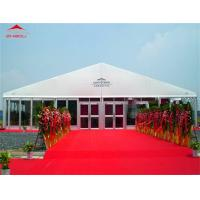 Flame Retardant 25m Outdoor Event Tent With Lining Decoration For Cafe Shop