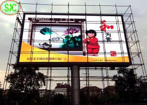 China Outdoor Advertising Led Display Screen , P6 Outdoor Led Display Epistar Chip on sale