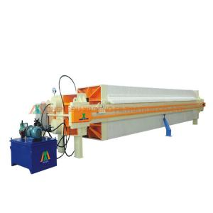 China 2.2KW Power Automatic Filter Press Pressure Retaining Filter Press 30㎡ Filter Area on sale