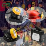 China Li-ion rechargeable battery 1w high power led miners cap lamp with cord wholesale
