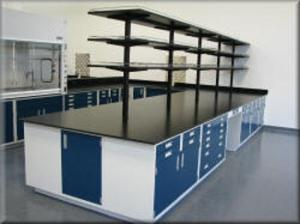 China Lab Tables Work Benches with Drawers with Durable Powder Coat Paint Technology on sale