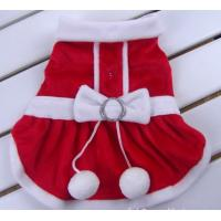Pet Dog Apparel Winter clothes Coat Merry Christmas Clothing Coat Red Gift Customized