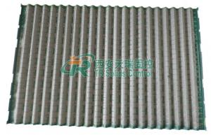 China 1053 X 697mm Derrick Shaker Screens Steel Frame For Drilling Waste Management on sale