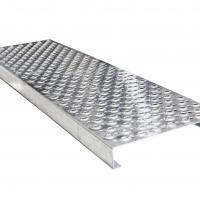 Equipment Steps Steel Safety Grating , Wear Resistance Galvanized Metal Grating
