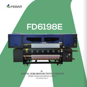 China Fedar FD6198E Roll To Roll Digital Piezo T Shirt Transfer Paper Sublimation Printer on sale