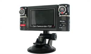 China H.264 2.7'' LCD Remote Control Dual Dashboard Motion Detect Vehicle Black Box Car Camera on sale