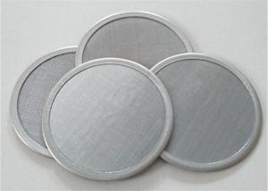 China 25 50 100 micron stainless steel wire mesh water oil filter disc on sale