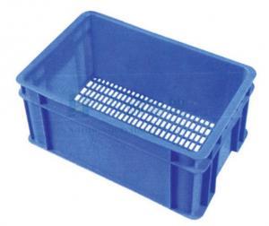 China 80kg - 100kg Portable Blue Fruit and Vegetable Rack Display Stands Basket on sale