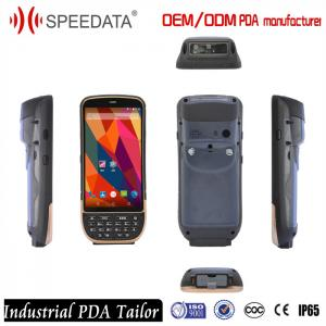 China IP65 Rugged Wireless Android Barcode Scanners , Symbol 2D Barcode Scanner 4G LTE on sale