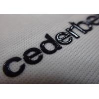 Screen Print High Density Flexible Heat Transfer Labels with Custom Name Logo for Clothing and Bag