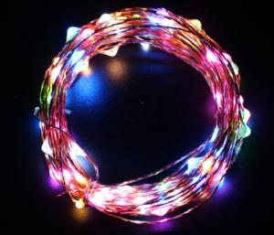 China Colorful DIY Solar LED String Lights Waterproof No Electrical Wiring Required on sale