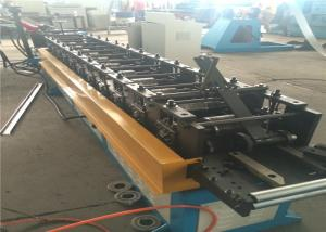 China 7 Rolls Door Frame Roll Forming Machine , 20m/ min Steel Door Frame Machinery on sale