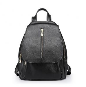 China Cowhide School Bags Women's Backpacks for Travelling  Leather Double Shoulder Bags on sale