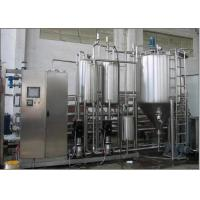 Long shelf life Dairy Drinking Yogurt Processing Line Automatic Complete Pasteurised