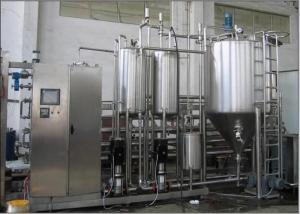 Quality Long shelf life Dairy Drinking Yogurt Processing Line Automatic Complete Pasteurised for sale