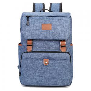 China Durable Linen Nylon Travel Hiking Backpack / Outdoor Laptop Backpack on sale