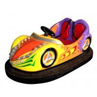 230w Rotating Amusement Bumper Cars / Battery Children