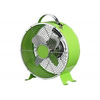 Modern 9 Inch High Velocity Vintage Electric Metal Fan For Home Or Office