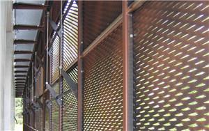 China decorative aluminum expanded panel application in building on sale