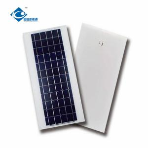 China ZW-12W-6V solar panel portable charger 12W 6V Residential Solar Power Panels on sale