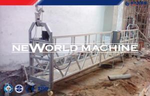 China Circle type motorized Construction hoist elevator , gondola Suspended Rope Platform on sale