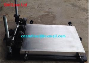 China Desktop Solder Paste Printing Machine , 1.2M Manual Solder Paste Printer on sale
