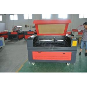 China Red and black 150w co2 laser cutter for acrylic / laser engraver machine 1290 on sale