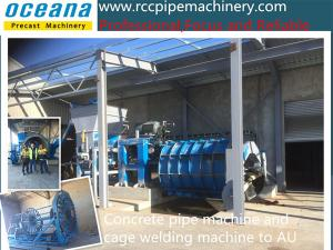 China Roller Suspension Concrete Pipe Making Machine for Road Culvert on sale