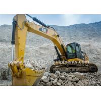 China Équipement lourd d'excavatrice hydraulique de Caterpillar, équipement d'excavation de 5.8Km/H on sale