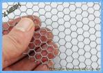 Hexagon Perforated Metal Mesh , Lightweight Aluminum Perforated Metal Sheet