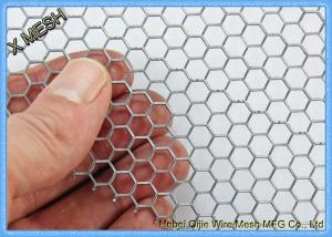 China Hexagonal Perforated Metal Mesh , Lightweight Aluminum Perforated Metal Sheet on sale
