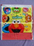 Mochila plástica linda del lazo de los niños con las historietas del Sesame Street