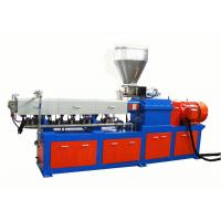 China Black Masterbatch Laboratory Double Screw Extruder With High Filler Material on sale