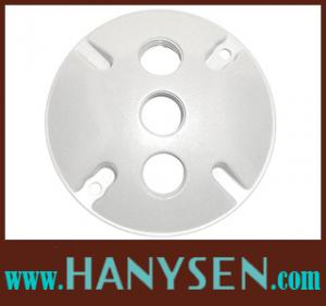 China IP65 Weatherproof junction box cover 3 hole round box cover on sale