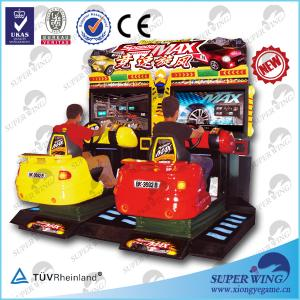 China Superwing Speed Max racing car game machine on sale